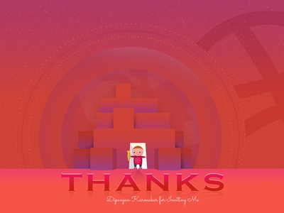 It's Dribbble time! welcome thanks shot post inviting invite hi hello follow first dribbble card