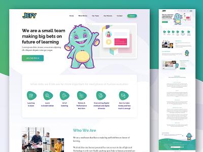 Video Making Site for Kids dribbble animation web illustration typography branding vector design app webmockup weblayout index website landing home desktop flat ux ui