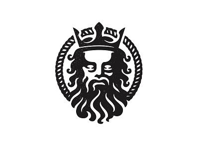 Poseidon vintage neptune poseidon bold luxury god logos logo