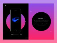 iPhone 7 presentation concept
