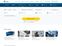 Expedia Homepage Redesign Concept redesign concept design homepage landing ux sketch interface ui dribbble