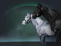 Rare Digital Racehorse
