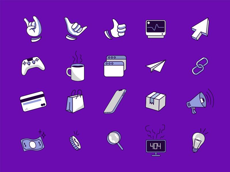 Bleez Home Icons vector illustration ui design icon