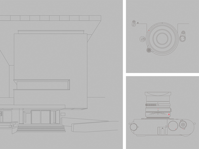 Photography museum of Fortaleza Illustrations vector illustrations design illustration ui