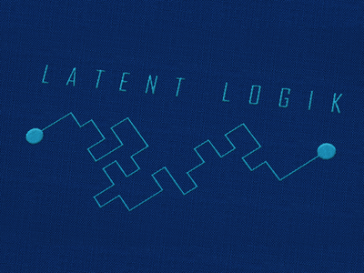 WIP logo drafts mind maze logic thought flow artificial intelligence