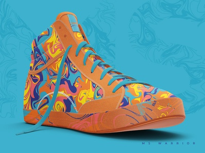 Pattern positivity bright colors multiple sclerosis ms shoes pattern