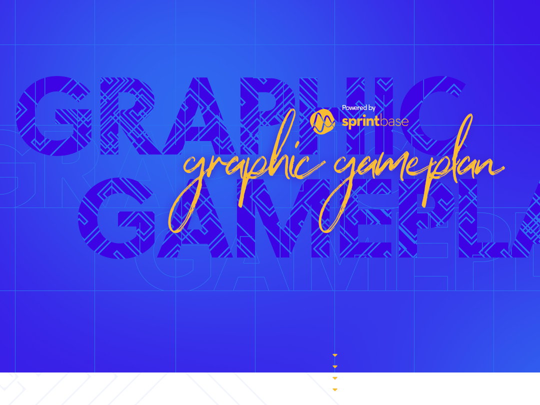 Graphic gameplan planning tool interface planning