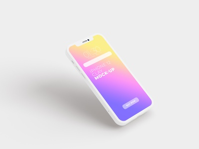Iphone 12 Clay Mockup space gray design ux ui mockups iphone 12 iphone free deal mockup psd mockup