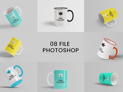 Realistic Mug Mockup Psd deal design mockup free illustration logo graphic design 3d