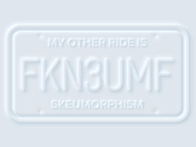 Neumorphism is dead