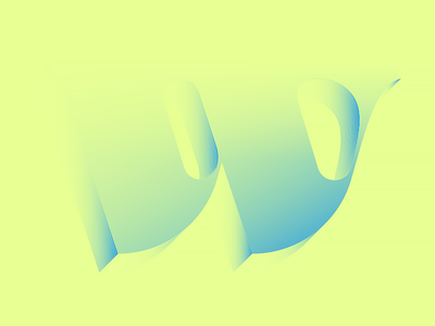 W by Zsolt via dribbble