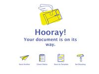 Document Sent!