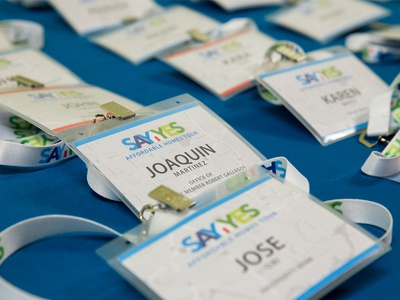 Say Yes Nametags