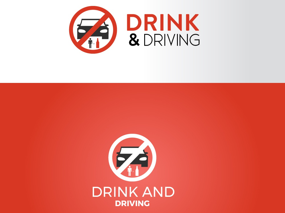 Drink and Driving driving drink brand logo vector logo design design ui ux typography illustration logo adobe photoshop cc
