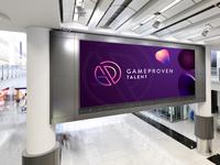 GP talent Logo Design