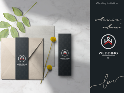 Concept of Wedding Logo Design