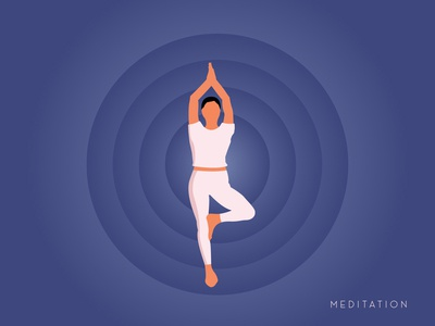 Illustration About Yoga