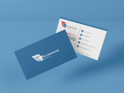My Financing USA finance branding design