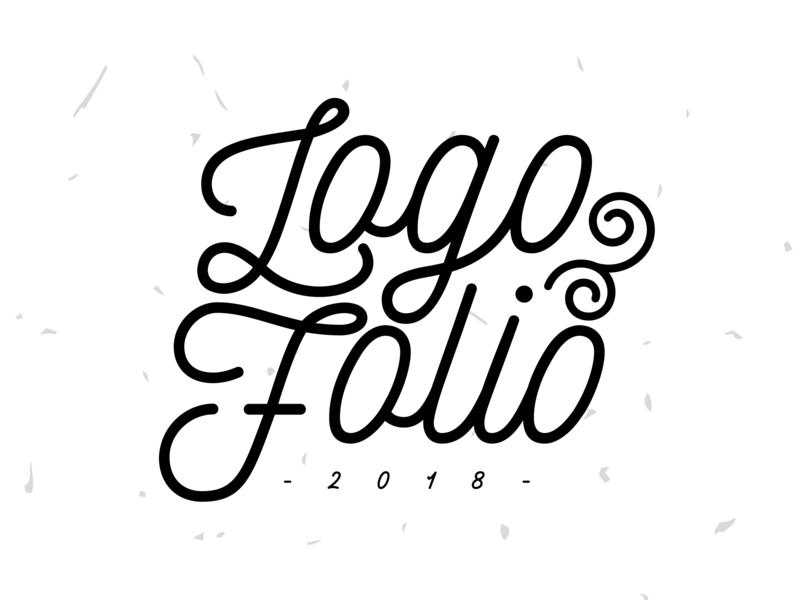 Logo Folio 2018 collaboration freehand illustration illustrator typography calligraph logo design logotype artdirection brand logo