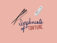Implements of torture.