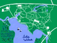 Wellesley College Map