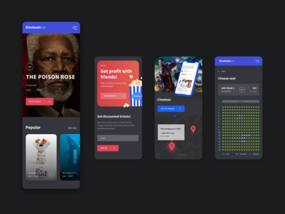Mobile Design for Cinema Service