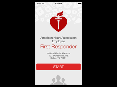 Design of First Responder App