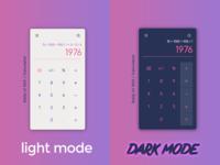 Light Mode VS Dark Mode