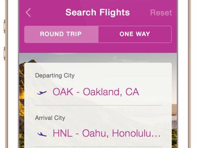 Hawaiian Airlines Update design redesign mobile ios ux ui