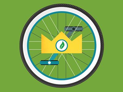 Unicycle badge