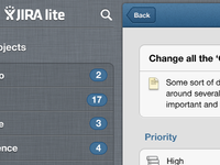 JIRA lite for iPad
