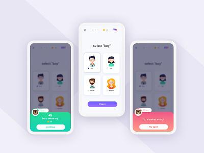 Sekani Game App ux design illustration colors ux uidesign dictionary learning app