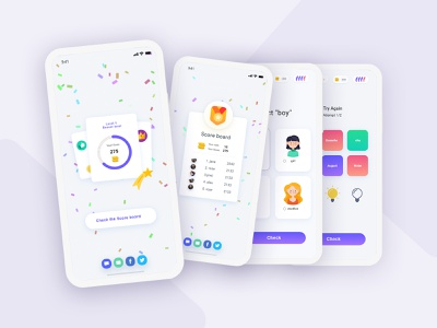 Sekani Game App brand ui game dictionary uidesign ux design colors