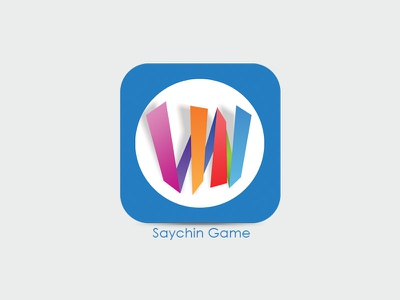 saychin logo android icon iconography brand game logo