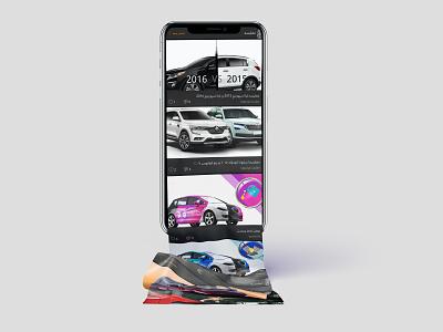 Mototel motorbikes personal ios uidesign ux design vs car vs car video service ui  ux design