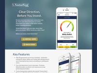 VectorVest Stock Advisory - App Landing Page