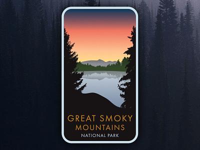 Great Smoky Mountains national park north carolina scenery mountains outdoors