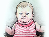 Baby Illustration 2