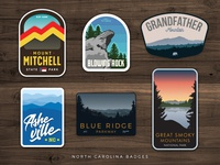 North Carolina Badges