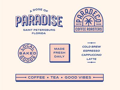 Coffee Shop Assets coffee branding coffee asset designs asset designs branding