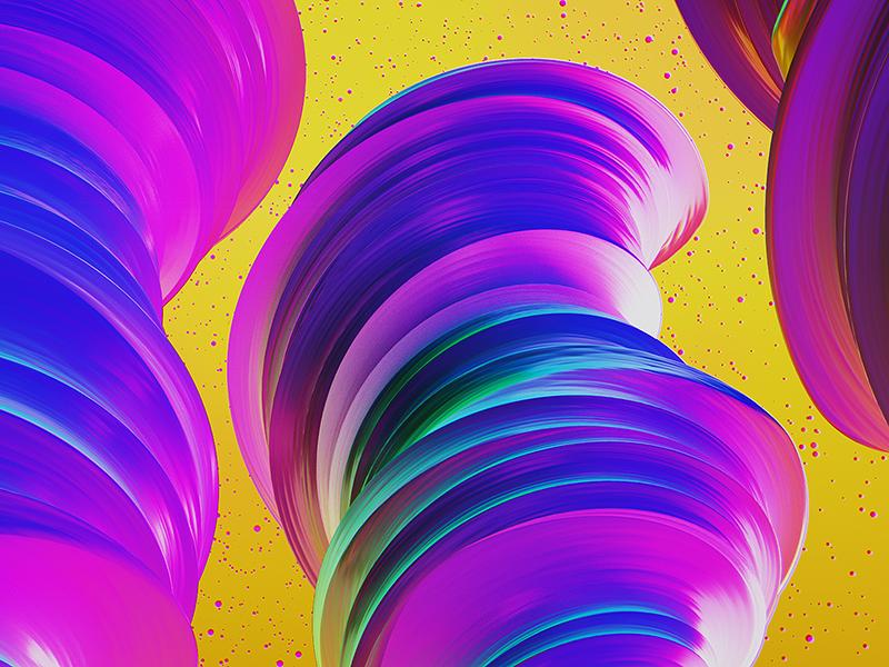 POP dailyrender 3dart maxon everydays bright skull abstract particles render octane c4d 3d