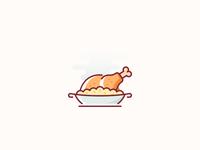 Kuwaiti Cuisine / food icon