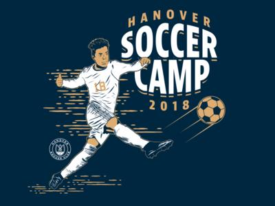 Soccer Camp Tee design type illustrator illustration soccer
