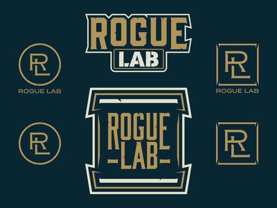 Rogue Lab rogue lab rl lab rogue lockup monogram