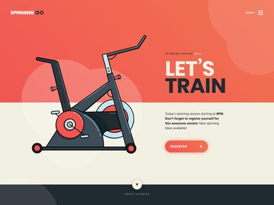 Let's train