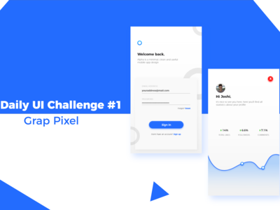 Daily UI Challenge #1