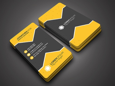Simple Business Card print ready premium multiple modern executive designer creative simple brand beautiful attractive