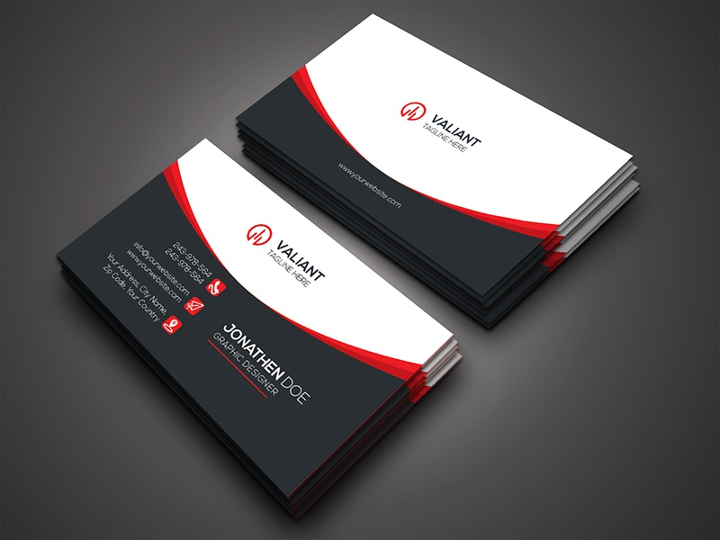 Corporate business card by shamim ahmed dribbble this is a corporate business card this template download contains 300 dpi print ready cmyk psd files all main elements are editable and customizable colourmoves