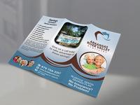 Dentistry Tri-Fold Brochure Design