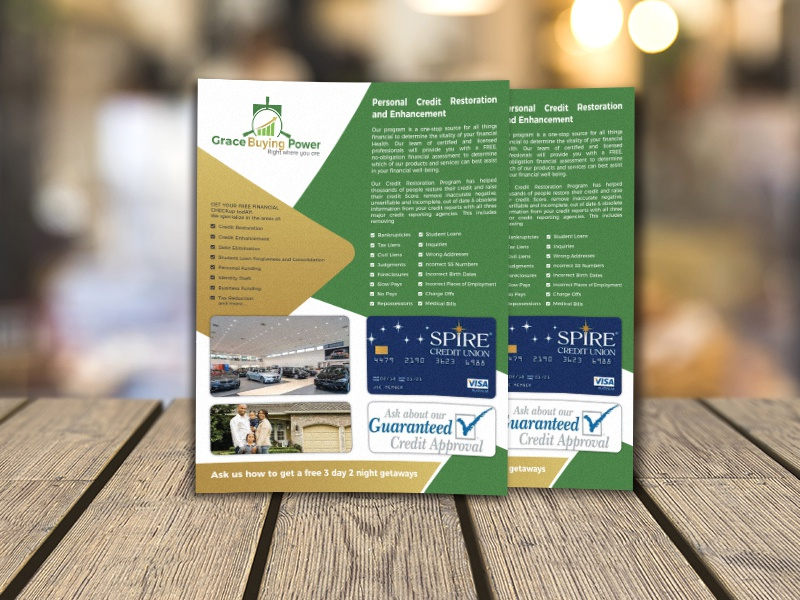 Corporate Flyer Template flyer design postcard invite print horizontal modern vector branding illustration business card clean card dribbble corporate professional personal design brand creative business